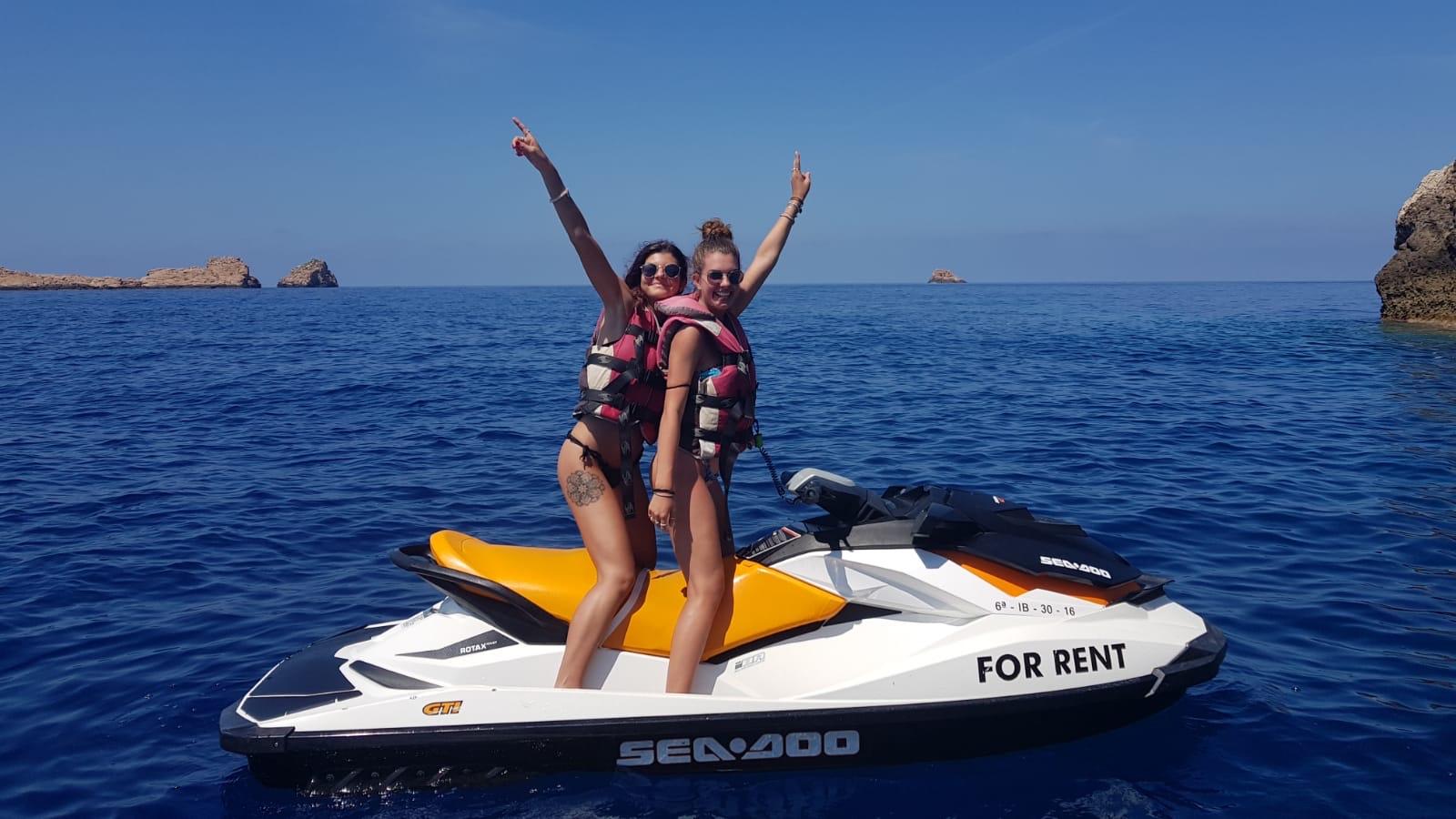 jetski girls seadoo ibiza